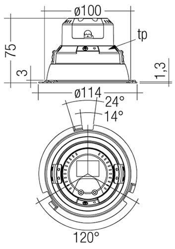 DLA-G1-100mm-1000lm