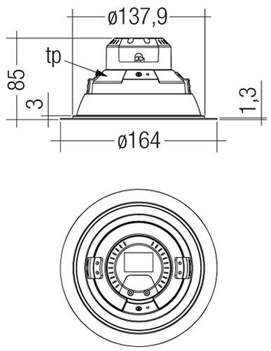 DLA-G1-150mm-2000lm