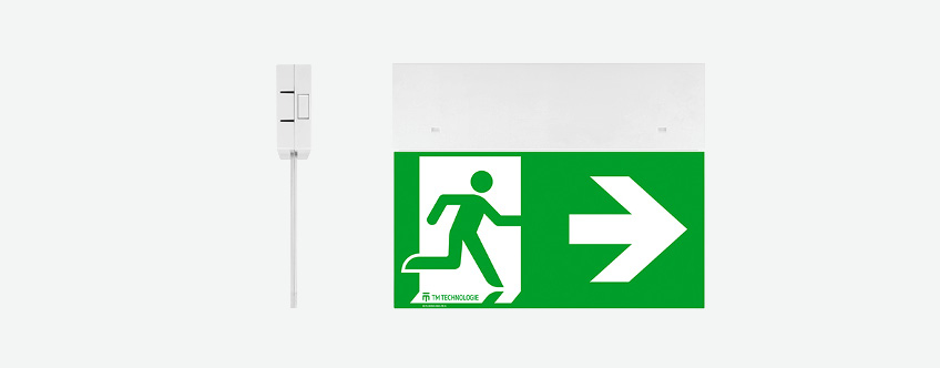ONTEC G Ceiling Mounted Exit Light